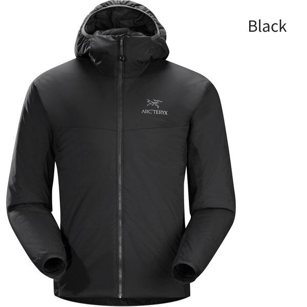 ◎アークテリクス 24477・Atom LT Hoody Men's/アトムLTフーディ メンズ(Black)L07126900