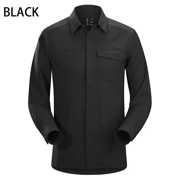 ◎アークテリクス 19065・Skyline LS Shirt Mens/スカイライン ロングスリーブシャツ Men's(BLACK)L06854800