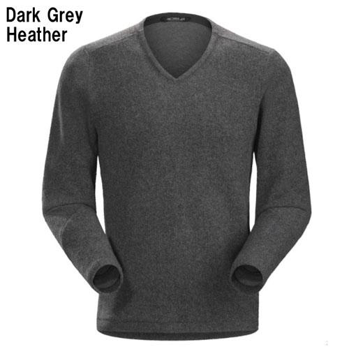 ◎アークテリクス 19713・Donavan V-Neck Sweater Men's/ドノバン Vネックセーター メンズ(Dark Grey Heather)L06929200