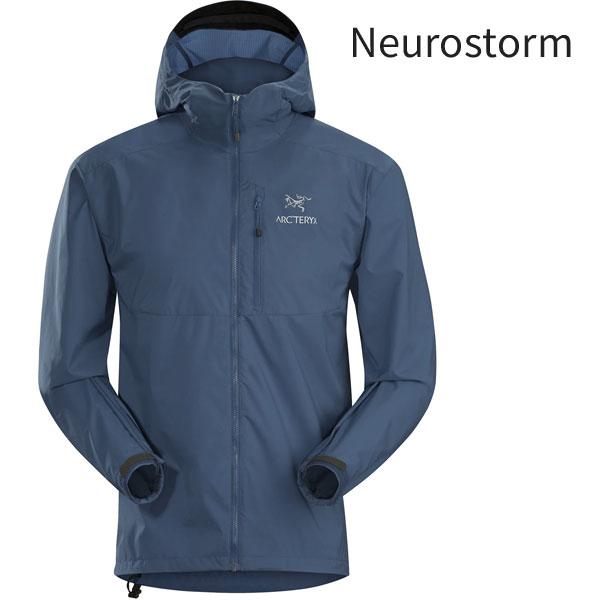 ◎アークテリクス 13647・Squamish Hoody Men's/スコーミッシュフーディー メンズ(Neurostorm)L07191200