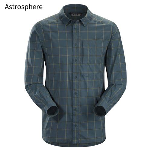 ◎アークテリクス 23018・Riel Shirt LS Men's/リエルシャツ ロングスリーブ メンズ(Astrosphere)L07204200