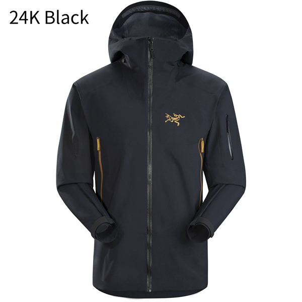 【Arc'teryx・2020年モデル】【バードエイド対象品】 ◎アークテリクス 24002・Sabre AR Jacket Men's/セイバーARジャケット メンズ(24K Black)<BIRD AID対象商品>L07275500