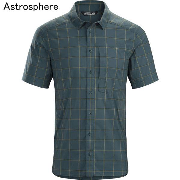 ◎アークテリクス 23019・Riel Shirt SS Men's/リエルシャツ ショートスリーブ メンズ(Astrosphere)L07204400