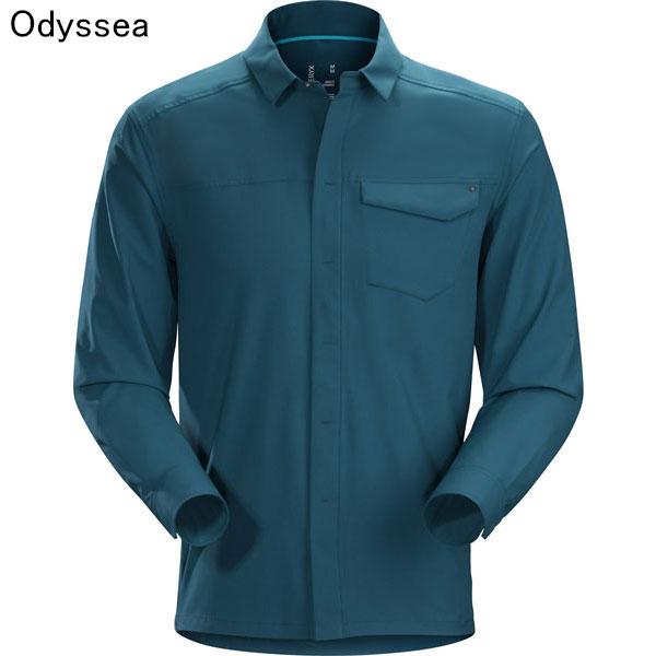 ◎アークテリクス 19065・Skyline LS Shirt Men's/スカイライン ロングスリーブシャツ メンズ(Odyssea)L07198800