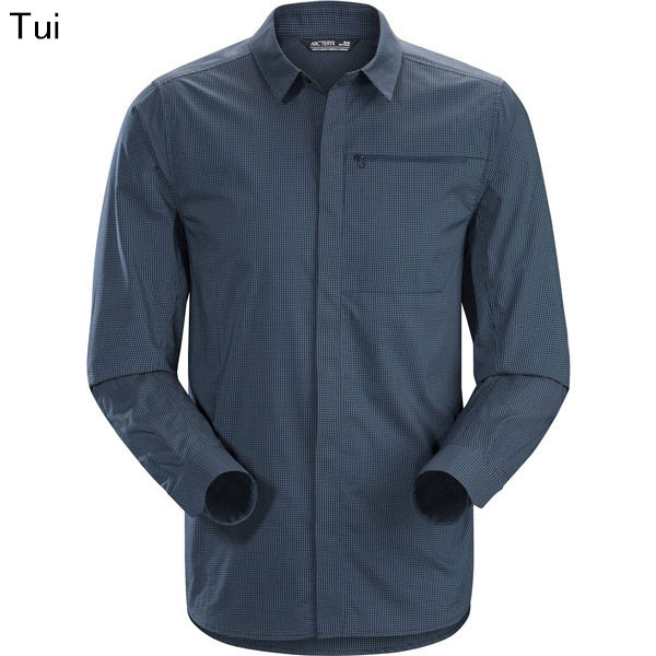 ◎アークテリクス 23076・Kaslo Shirt LS Men's/カスロシャツ ロングスリーブ メンズ(Tui)L07151500