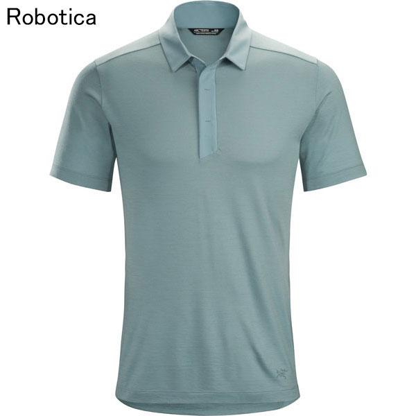 ◎アークテリクス 21028・A2B SS Polo Men's/A2B ショートスリーブ ポロ メンズ(Robotica)L07161600