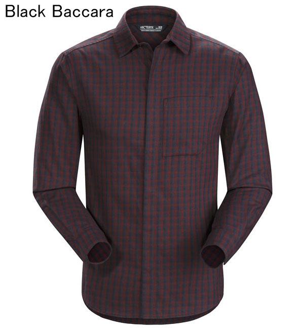 ◎アークテリクス 21740・Bernal LS Shirt Men's/バーナル ロングスリーブシャツ メンズ(Black Baccara)L07272200