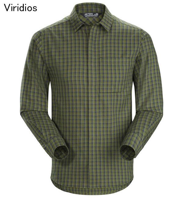 ◎アークテリクス 21740・Bernal LS Shirt Men's/バーナル ロングスリーブシャツ メンズ(Viridios)L07285100