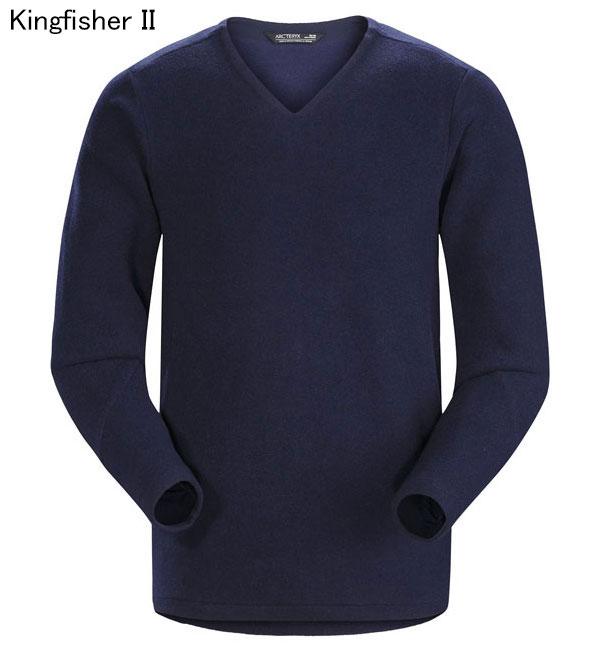 ◎アークテリクス 19713・Donavan V-Neck Sweater Men's/ドノバンVネックセーター メンズ(Kingfisher II)L07283800