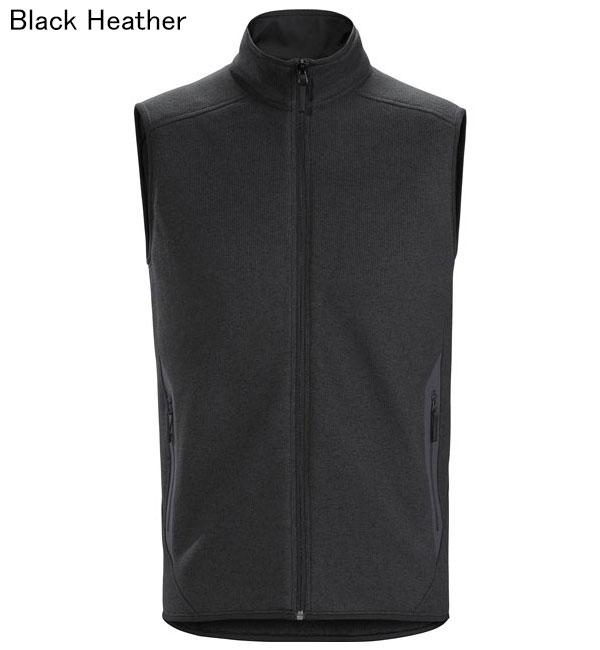 ◎アークテリクス 24091・Covert Vest Men's/コバートベスト メンズ(Black Heather)L07247100