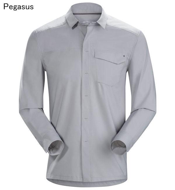 ◎アークテリクス 19065・Skyline LS Shirt Men's/スカイライン ロングスリーブシャツ メンズ(Pegasus)L07225600