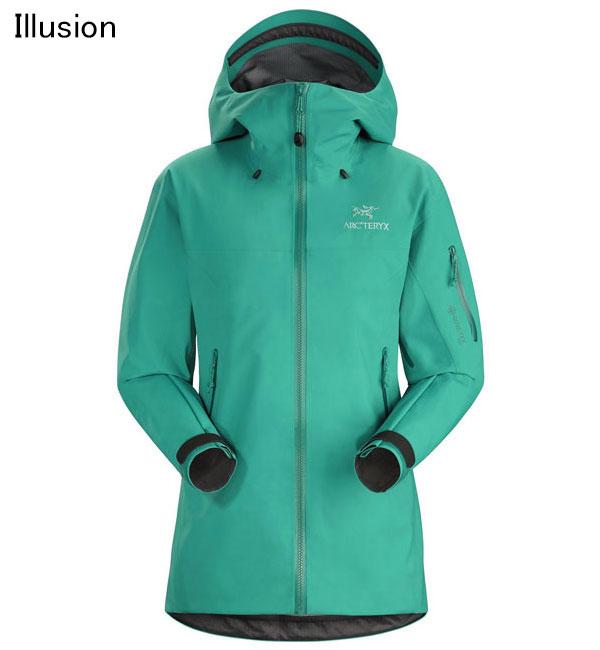 ◎アークテリクス 18410・Beta SV Jacket Women's/ベータSVジャケット ウィメンズ(Illusion)<BIRD AID対象商品>L07266100