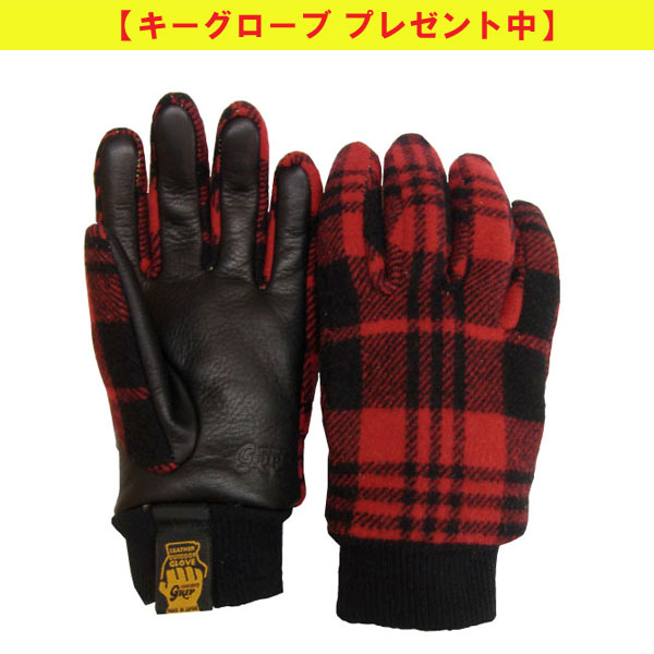 ◇グリップスワニー・G-5(バッファローチェック・裏ボア付き)【キーグローブプレゼント】