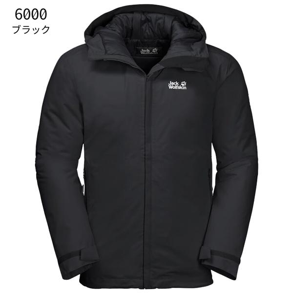 ○ジャックウルフスキン W1111721_6000・アルゴンストーム ジャケット メンズ(ブラック)【50%OFF】