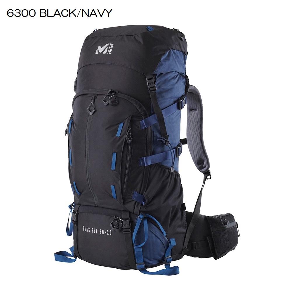 ○ミレー MIS0637・SAAS FEE 60+20/サースフェー60+20