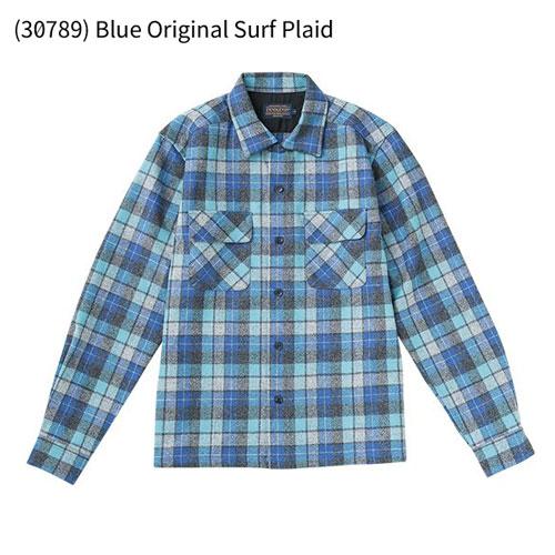 ○ペンドルトン 19800503_30789・ボードシャツ ジャパンフィット AA417(Blue Original Surf Plaid)