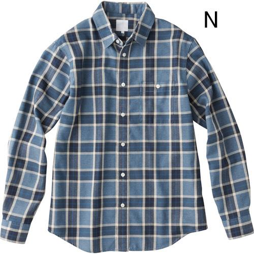○ノースフェイス NR61705・ロングスリーブ ブライスバーグシャツ(メンズ)