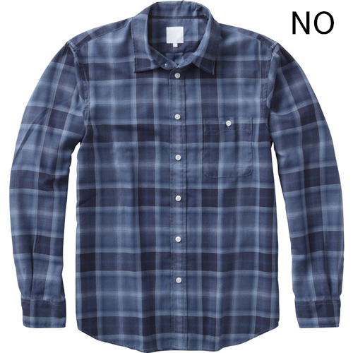 ○ノースフェイス NR61704・ロングスリーブ グラントグローブシャツ(メンズ)【31%OFF】