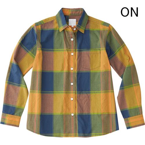 ○ノースフェイス NRW11812・ロングスリーブ マドラスチェックシャツ(ウィメンズ)
