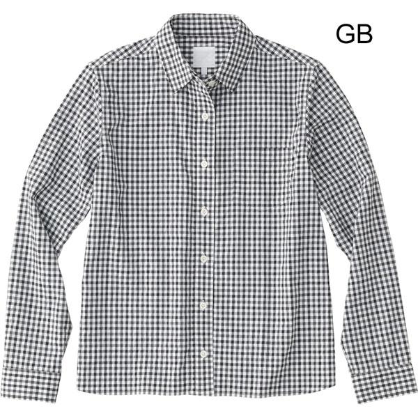 ○ノースフェイス NRW11803・ロングスリーブ ネバダシャツ(ウィメンズ)