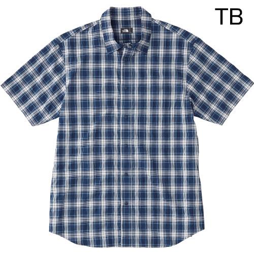 ○ノースフェイス NR21803・ショートスリーブ ネバダシャツ(メンズ)