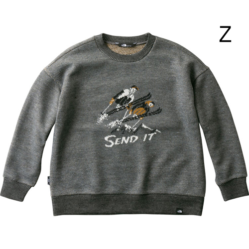 ○ノースフェイス NTW61810・ウインドストッパーテックセーター(ウィメンズ)【31%OFF】