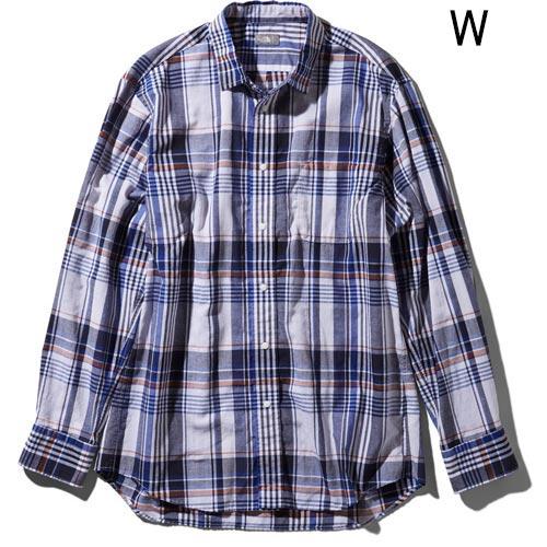 ○ノースフェイス NR11957・ロングスリーブ バハダネイチャーシャツ(メンズ)