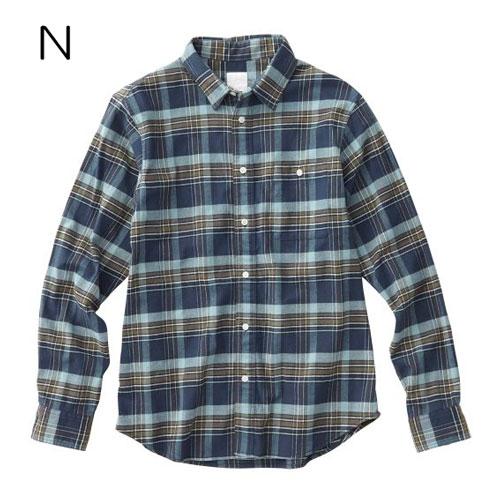○ノースフェイス NR61801・ストレッチビエラチェックシャツ(メンズ)【30%OFF】
