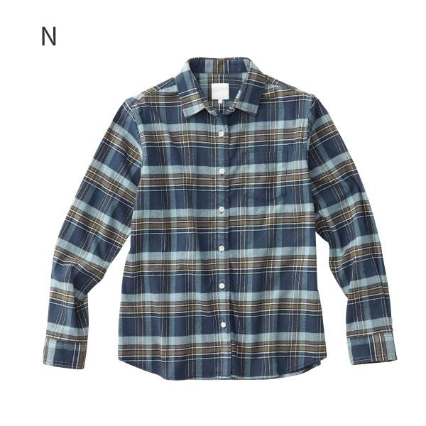 ○ノースフェイス NRW61801・ストレッチビエラチェックシャツ(ウィメンズ)