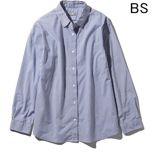 ○ノースフェイス NRW11953・ロングスリーブ ノーザンハリアーシャツ(ウィメンズ)