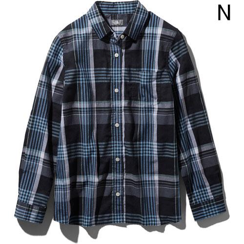 ○ノースフェイス NRW11957・ロングスリーブ バハダネイチャーシャツ(ウィメンズ)