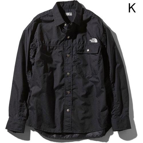 ○ノースフェイス NR11961・ロングスリーブ ヌプシシャツ(ユニセックス)