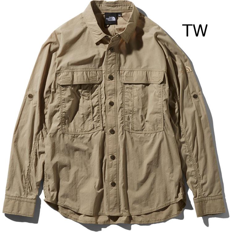 ○ノースフェイス NR11962・ロングスリーブ メリディアンシャツ(ユニセックス)