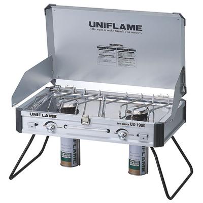 ◇UNIFLAME(ユニフレーム) 610305・ツインバーナー US-1900