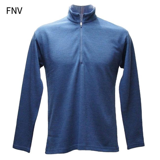 ◎WAIPOUA(ワイポウア) H176・メリノウール メンズミッドロングZIPシャツ【30%OFF】