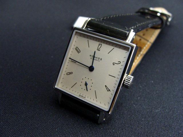 Genuine NOMOS Nomos TETRA Tetra hand winding Germany-Bauhaus design