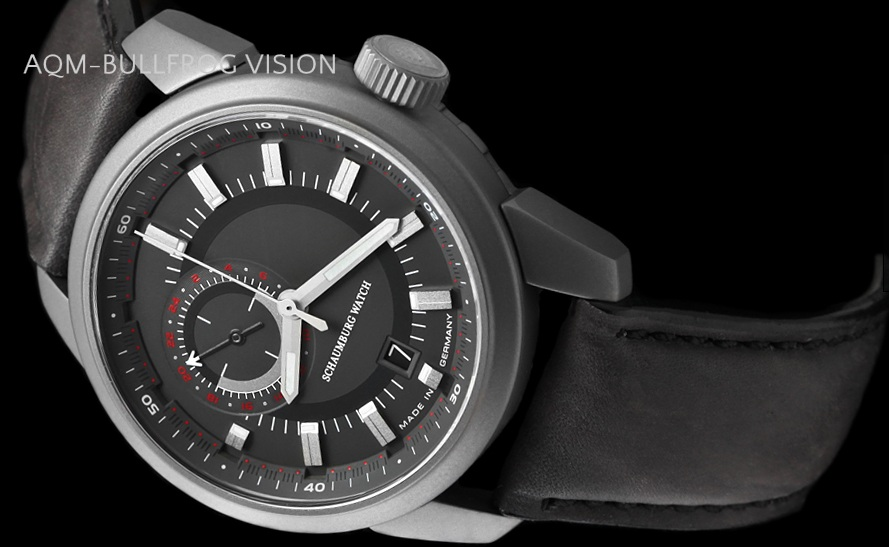 2013 new work モデルシャウボーグウォッチ AQM bullfrog vision self-winding watches made in regular article MADE IN GERMANY Germany