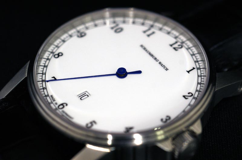 The self-winding watch arrival with the シャウボーグウォッチ one needle clock date made in MADE IN GERMANY Germany