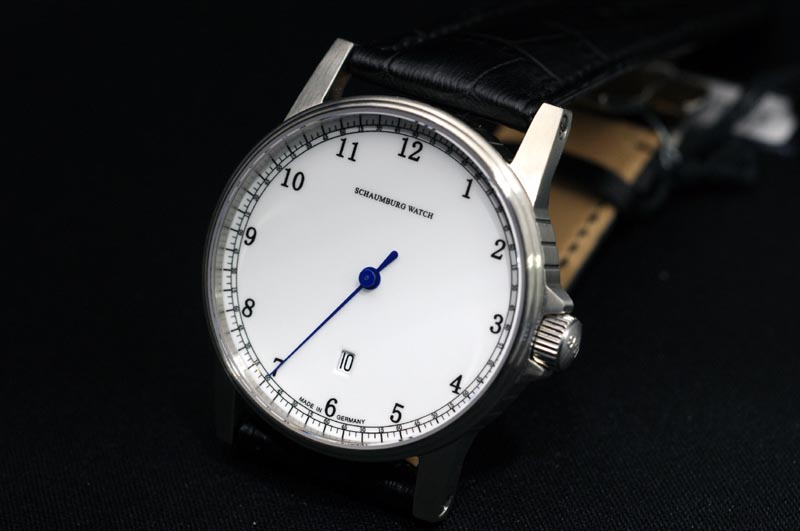 有MADE IN GERMANY德国制造shauboguuotchi 1条针钟表日期的自动卷进货