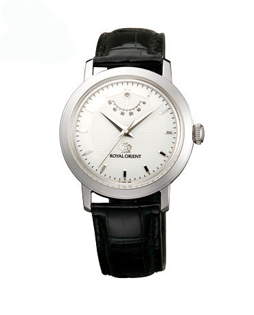 Oriental best masterpiece on the Royal Orient Sterling Silver 925 domestically-made leather strap WE0031EG