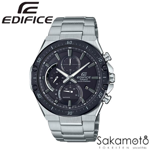 【2020.02.07発売】国内正規品 カシオ【EDIFICE(エディフィス)】 EDIFICEのソーラーシリーズからサファイアガラス採用の薄型モデル「EFS-S560」が新登場 クロノグラフ 腕時計 メンズ 男性用 ソーラー【EFS-S560YDB-1AJF】