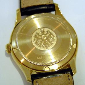 正規的物品這個居民THE西鐵城世界最高峰石英晶體鐘純金情况CTQ57-0971