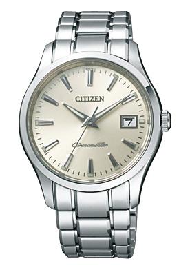 正規的物品這個居民THE西鐵城世界最高峰石英晶體鐘不銹鋼CTQ57-0961