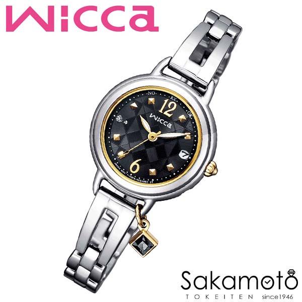 国内正規品 CITIZEN シチズン wicca ウィッカ 電波 ソーラーテック 腕時計 ウォッチ 女性用 レディース 婦人用【KL0-910-51】