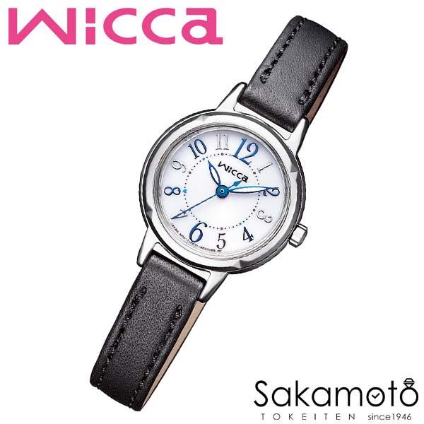 国内正規品 CITIZEN シチズン wicca ウィッカ ソーラーテック 腕時計 ウォッチ 女性用 レディース 婦人用【KP3-619-12】