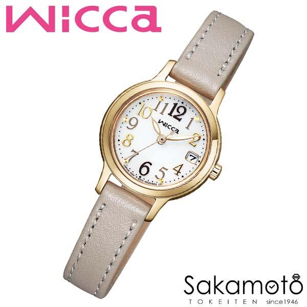 国内正規品 CITIZEN シチズン wicca ウィッカ ソーラーテック 腕時計 ウォッチ 女性用 レディース 婦人用【KH4-921-10】