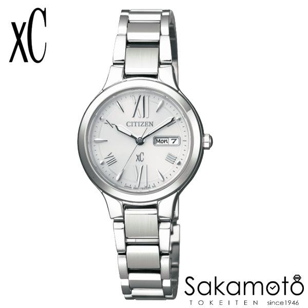 国内正規品 CITIZEN シチズン xC クロスシー 腕時計 ウォッチ 女性用 婦人用 レディース【EW3220-54A】