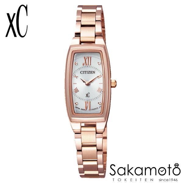 国内正規品 CITIZEN シチズン xC クロスシー 腕時計 ウォッチ 女性用 婦人用 レディース【EG2872-52A】