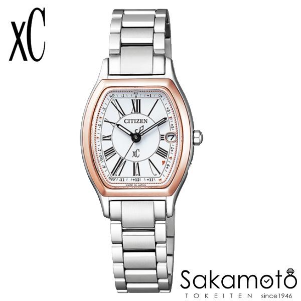 国内正規品 CITIZEN シチズン xC クロスシー 腕時計 ウォッチ 女性用 婦人用 レディース【ES9355-58A】AL