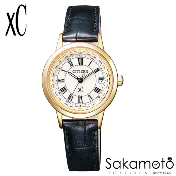 国内正規品 CITIZEN シチズン xC クロスシー 腕時計 ウォッチ 女性用 婦人用 レディース【EC1142-05B】